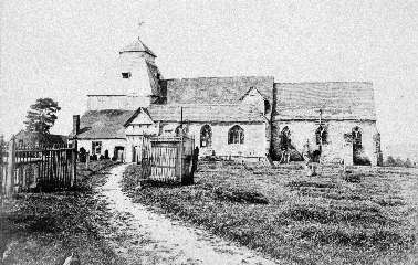 The old Church at Suckley